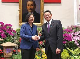 台湾:蔡英文総統