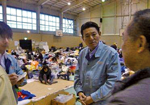東日本大震災の復旧復興に走る!