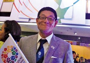 東京オリパラ招致委員としてIOC総会に出席